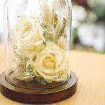 ブーケのお花のフラワードーム